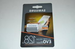 Samsung 100MB/s  MicroSD EVO Memory Card with Adapter 128 GB