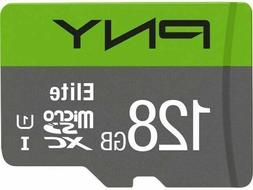 PNY 128 GB Micro SD Card For Phone Tablet FLASH Memory Card