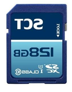 SCT 128GB SD XC Class 10 UHS-1 Memory Card Secure Digital SD
