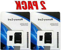 2 - 1TB  Universal Micro SD SDHC SDXC TF Flash Memory Cards