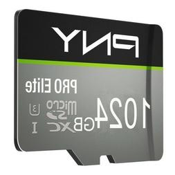 2020 PNY Micro SD CARD class 10 - big size SPECIAL - 1024 GB