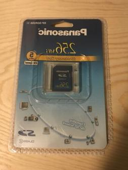 Panasonic 256 MB SD Memory Card 5MB/s 33x Speed Class 2 Made