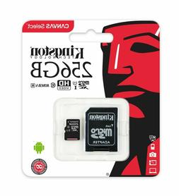 256GB Kingston micro SD 80MB/s Memory Card For Samsung Galax