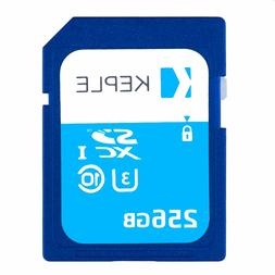 256GB SD Card Class 10 Memory card for Sony CyberShot DSC-RX