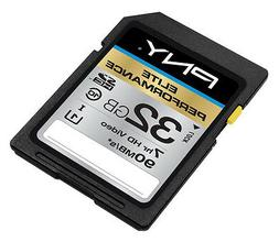 PNY 32G SDHC SD card for Canon EOS 5D Mark III Rebel T4i 650