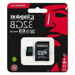 32GB Kingston Micro SD SDHC Memory Card For Canon PowerShot
