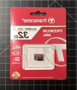 Transcend 32GB Micro SDHC UHS-I Class 10 SD Card