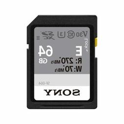 Sony 64GB E-Series High Speed SD Card
