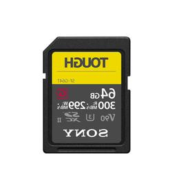 Sony 64GB UHS-II Tough G-Series SD Card