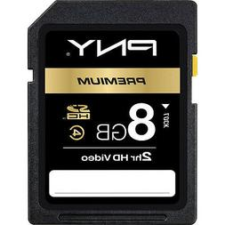 PNY 8G SDHC SD card for Canon PowerShot SX260 SX160 SX150 SX