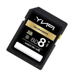 PNY 8G SDHC SD card for canon PowerShot 510 S100 SD4500 SX15