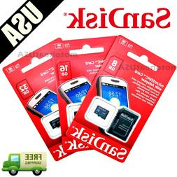 SanDisk 8GB 16GB 32GB Micro SD HC Class 4 TF Flash SDHC Memo