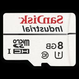 SanDisk 8GB Industrial MLC Grade Micro SD SDHC UHS-I Class 1