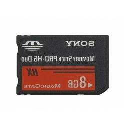 Sony 8GB Memory Stick MS Pro Duo Memory Card for Sony PSP an