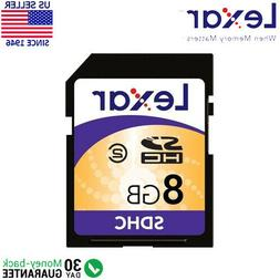 Lexar 8GB SD Multi-Use Secure Digital SDHC Memory Card