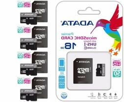 ADATA MICRO SD 16GB CLASS 10 50MB/s HD VIDEO MEMORY CARD For