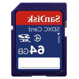 SanDisk 64GB Class 4 SDXC Flash Memory Card- SDSDB-064G-B35