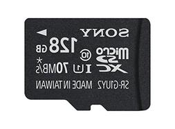 Sony 128GB Class 10 UHS-1 Micro SDXC up to 70MB/s Memory Car