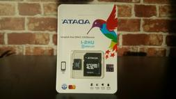 Adata Class10 256GB Micro SD SDXC UHS-1 Memory Card + FREE A