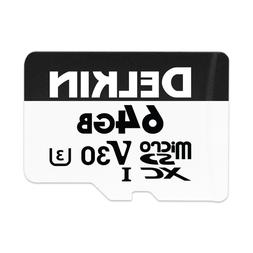 Delkin DDMSDW66064G Devices 64GB Advantage microSDXC UHS-I