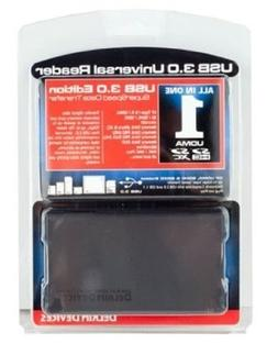 Delkin DDSD600-32R3 Memory Card with USB 3.0 Universal Card