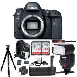 Canon EOS 6D Mark II DSLR Camera with 64GB SD Card and Batte