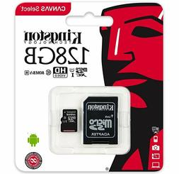 KINGSTON 128GB Micro SD 80MB/s Memory Card For Canon Ixus 50