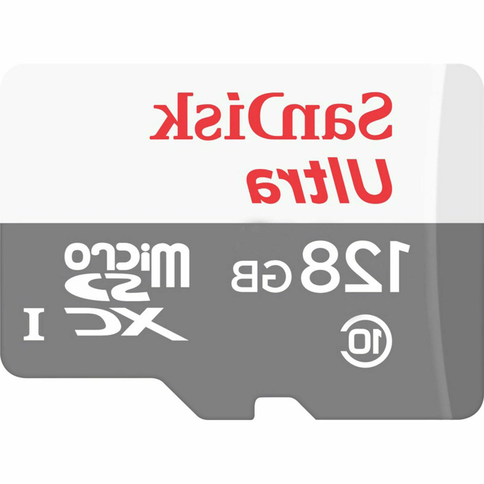 Sandisk 128GB Micro SD Class 10 TF Memory