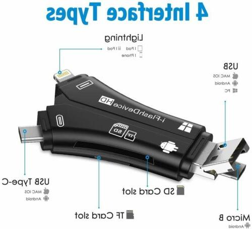 4in1 USB Drive Micro Card Reader For Android
