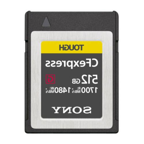 512gb cfexpress type b tough memory card