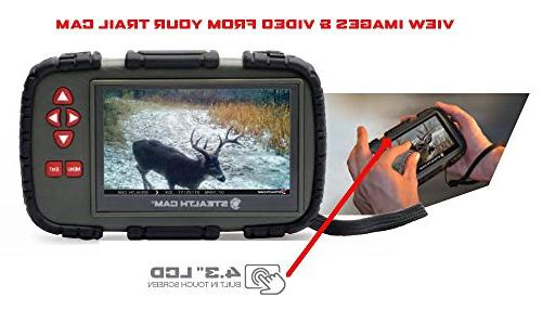 """Stealth Cam 4.3"""" LCD Card"""