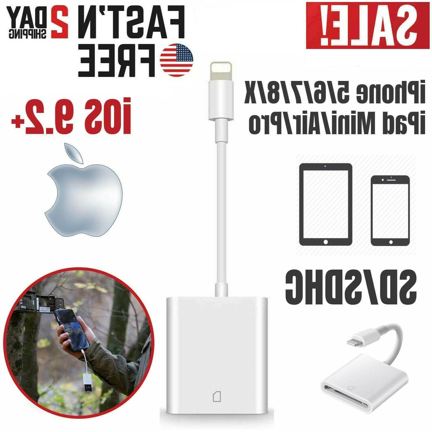 apple sd card reader for iphone lightning