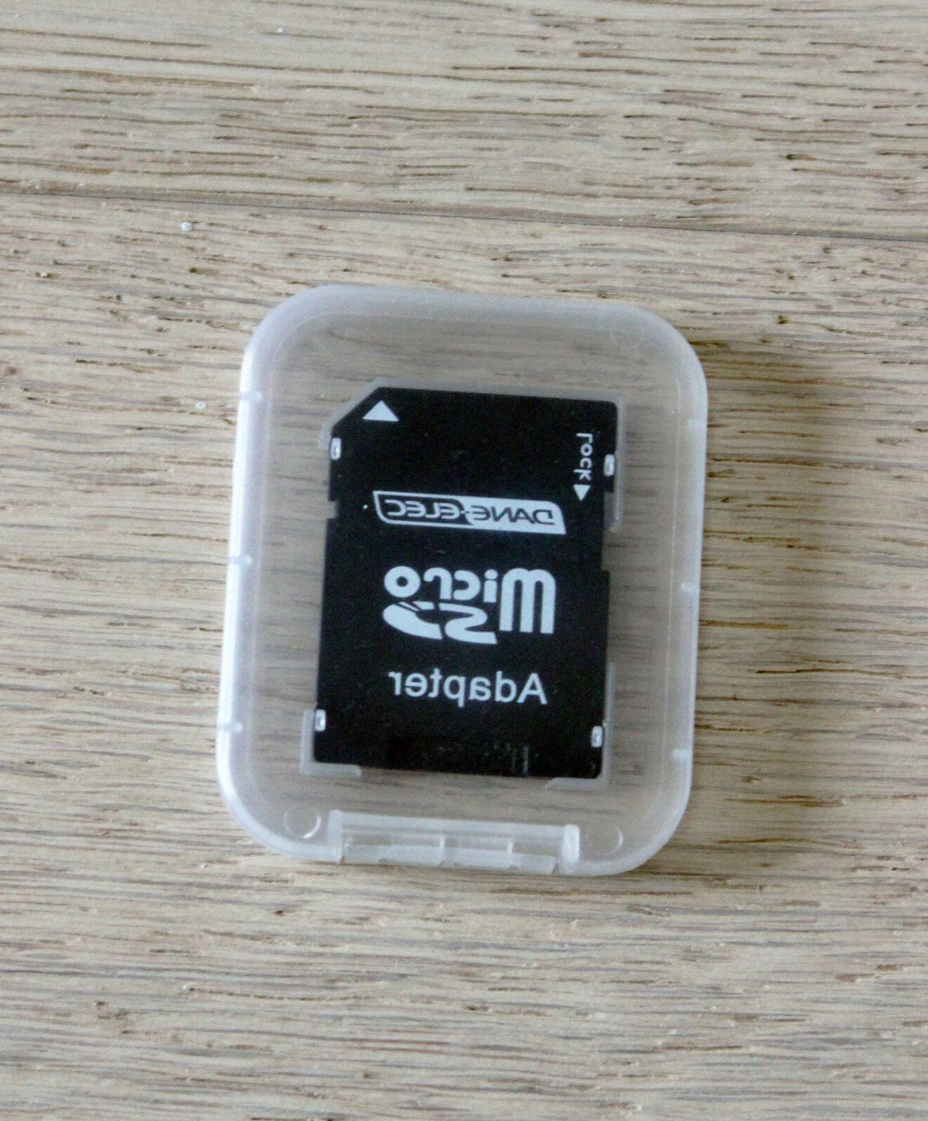 DANE-ELEC ADAPTER SDHC SD CARD WITH CASE