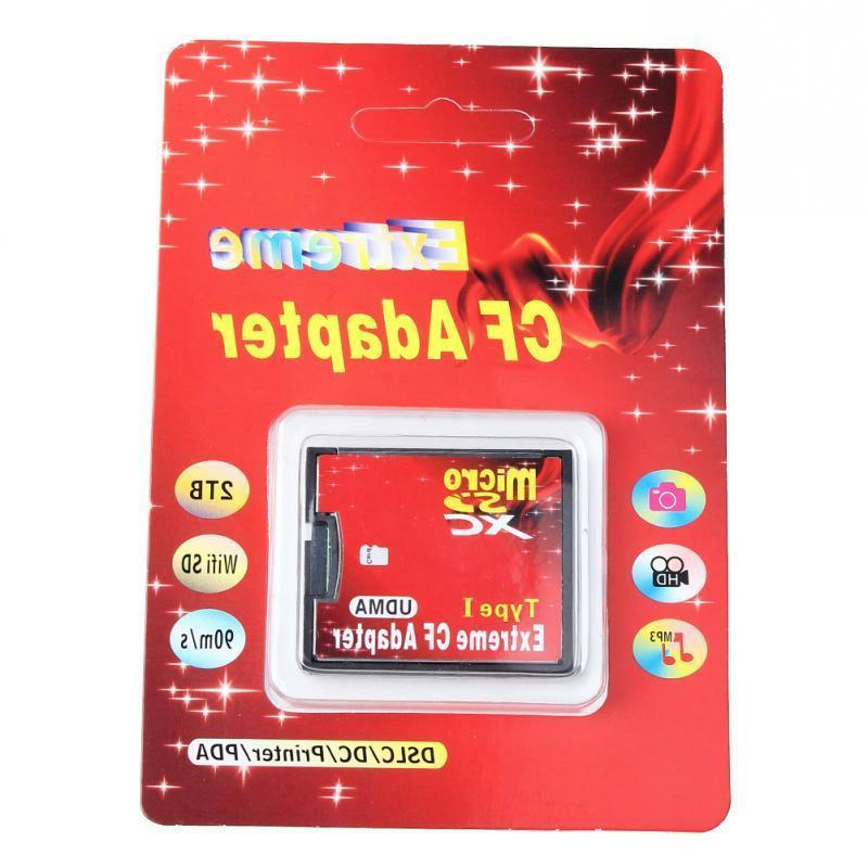 Dual port Micro SD SDHC to Compact Flash I