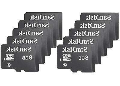 Lot 8GB SD SDHC Flash Card