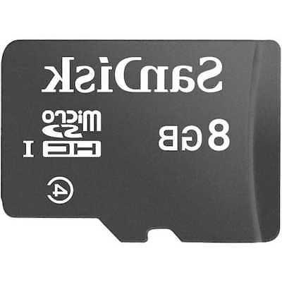 Lot of 8GB CLASS micro SD Card PACK ADAPTER