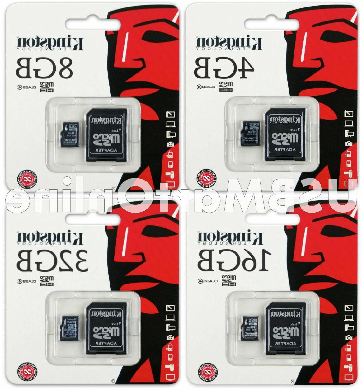 Kingston micro sd card 16gb with adapter