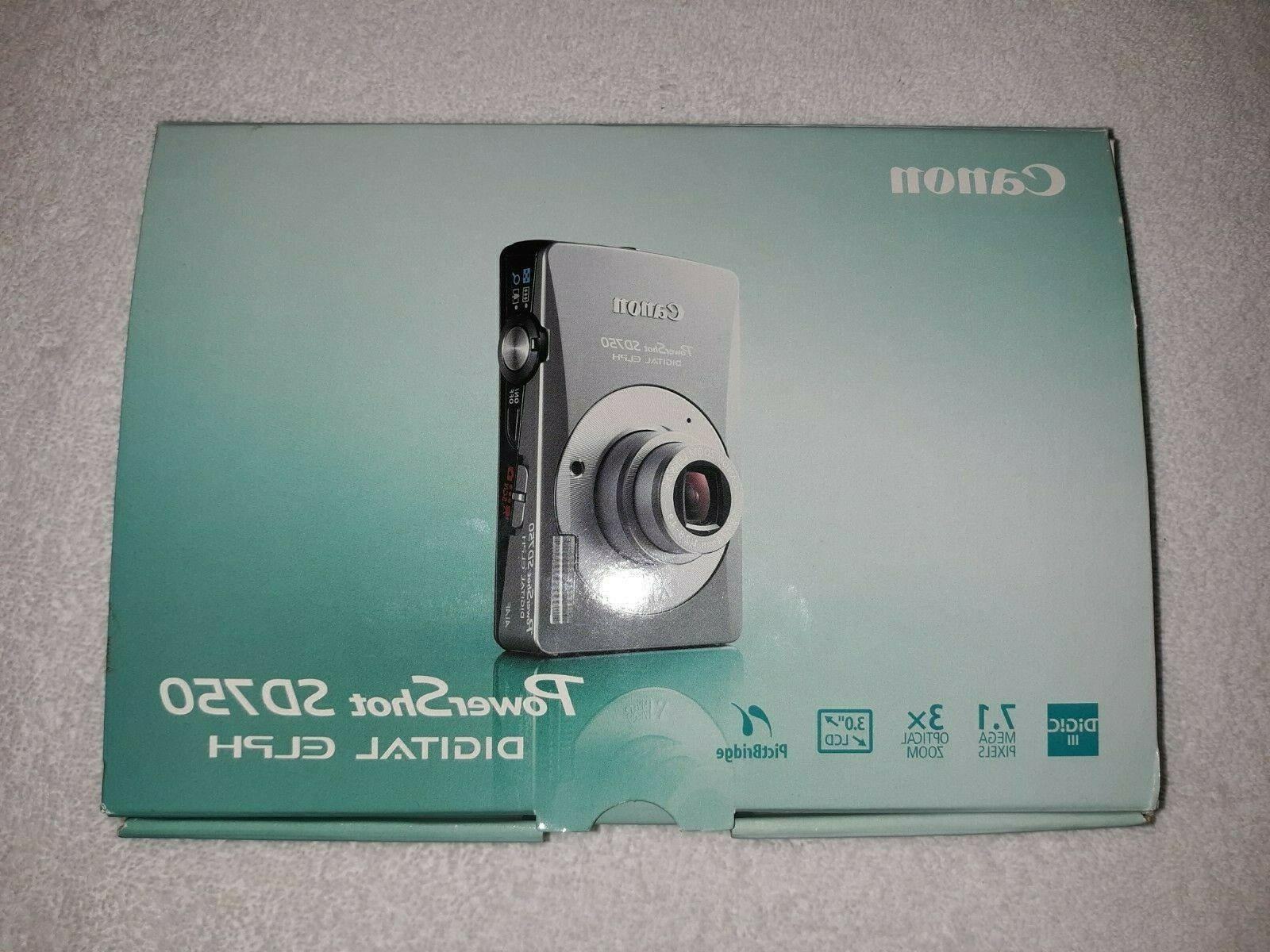 powershot sd 750 elph with sd card