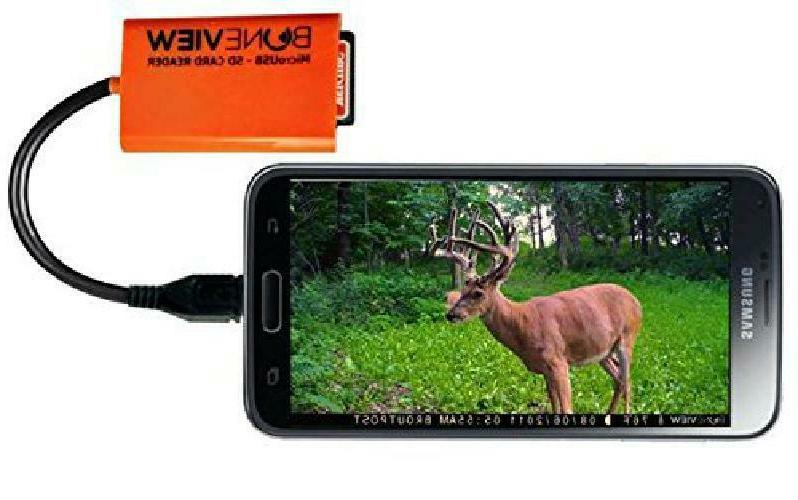 sd card reader for android smartphone trail