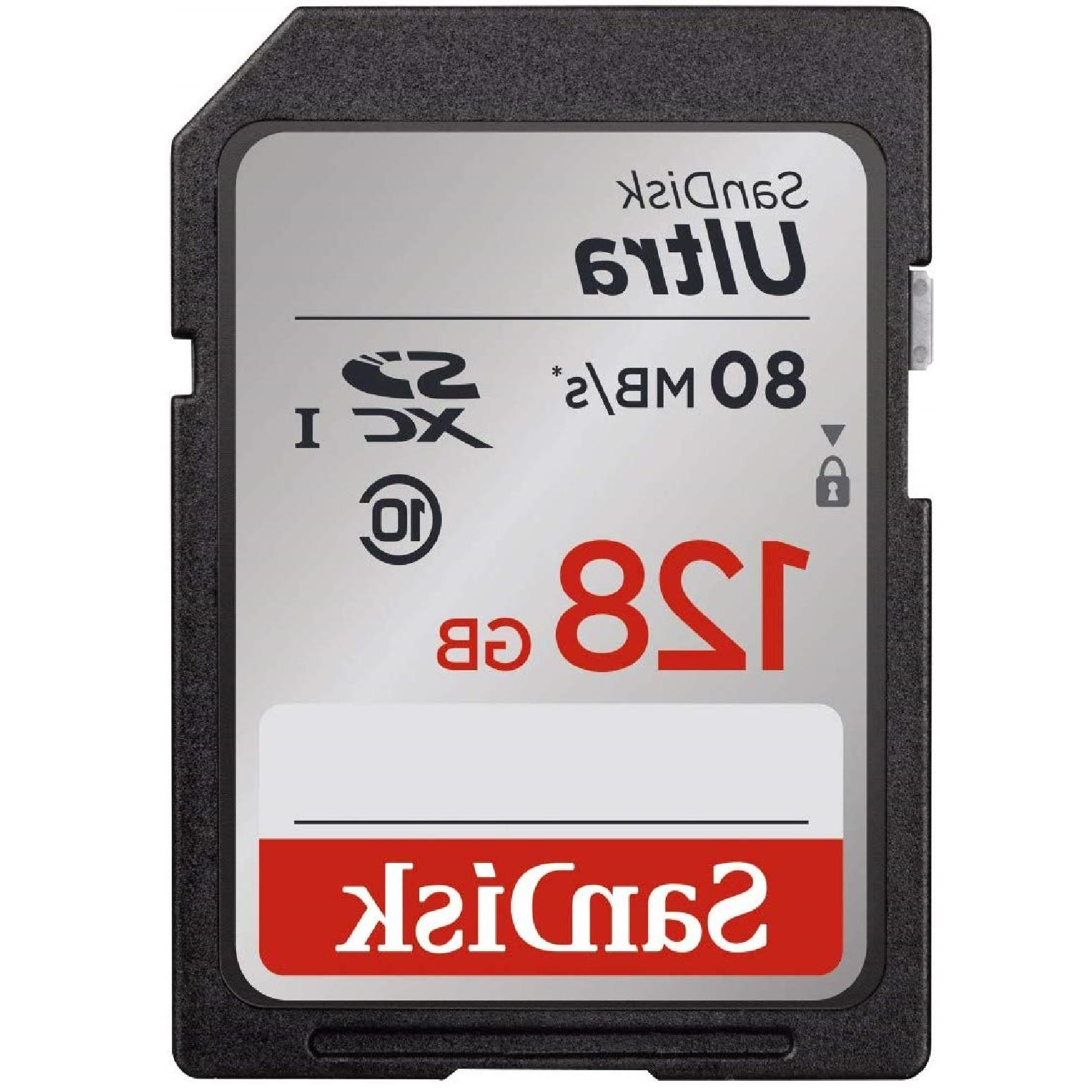 SanDisk SD Class Up 80MB/s Camera