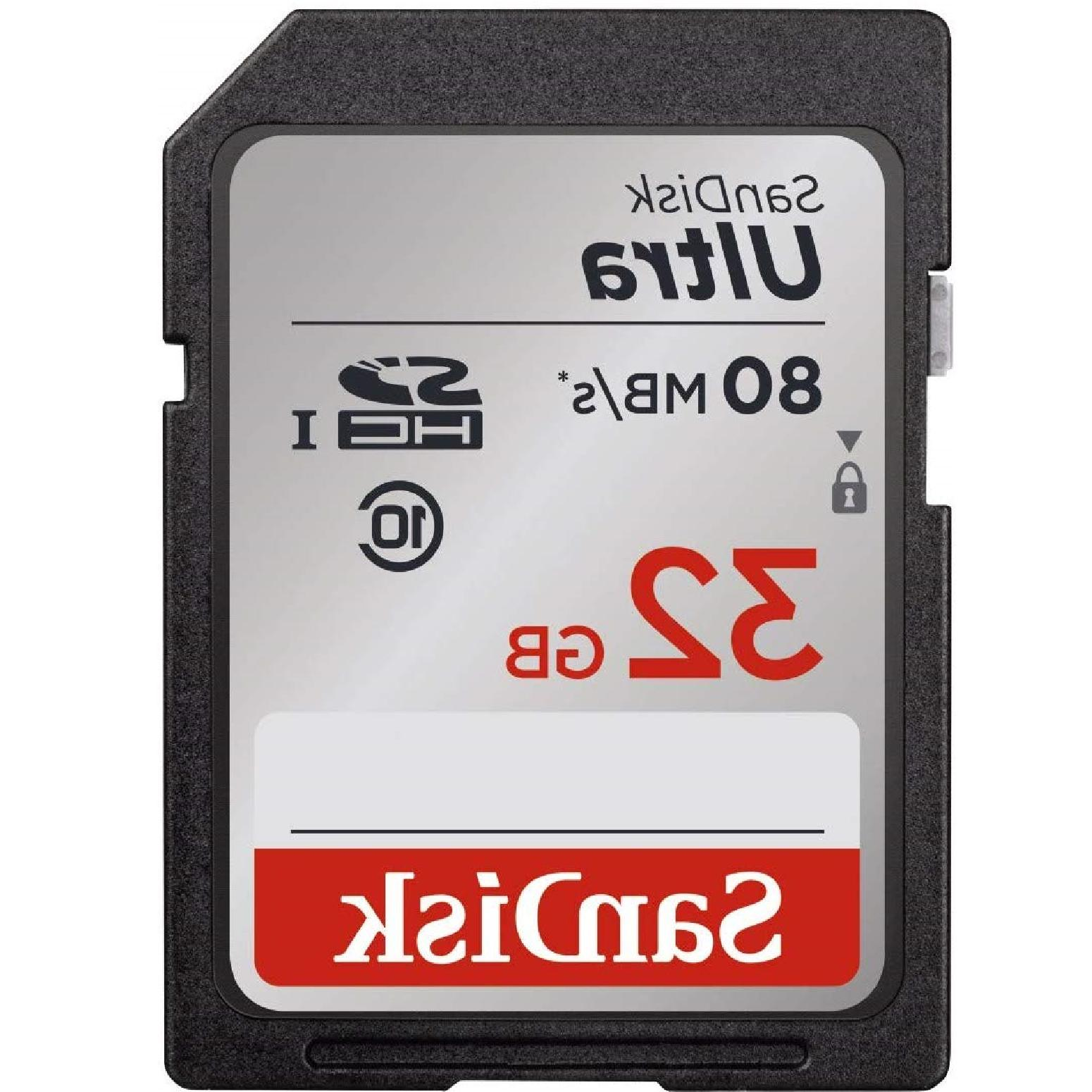 SanDisk SD Ultra Class Up To Camera Full HD