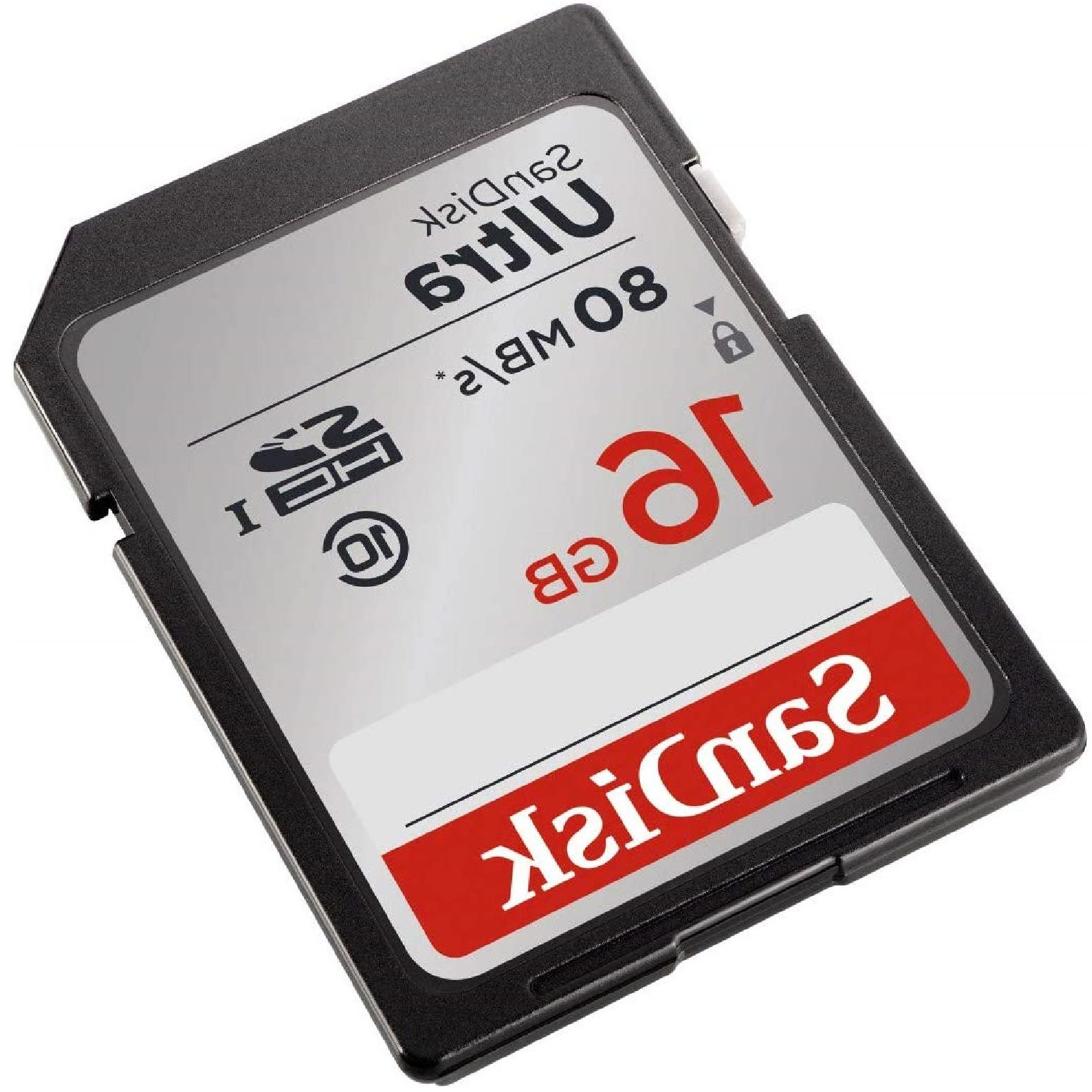 SanDisk Class 10 Memory Up To Full