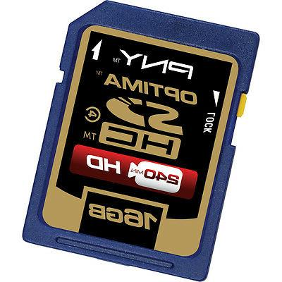 PNY 16G SDHC SD card for Canon PowerShot SX260 SX160 SX150 S