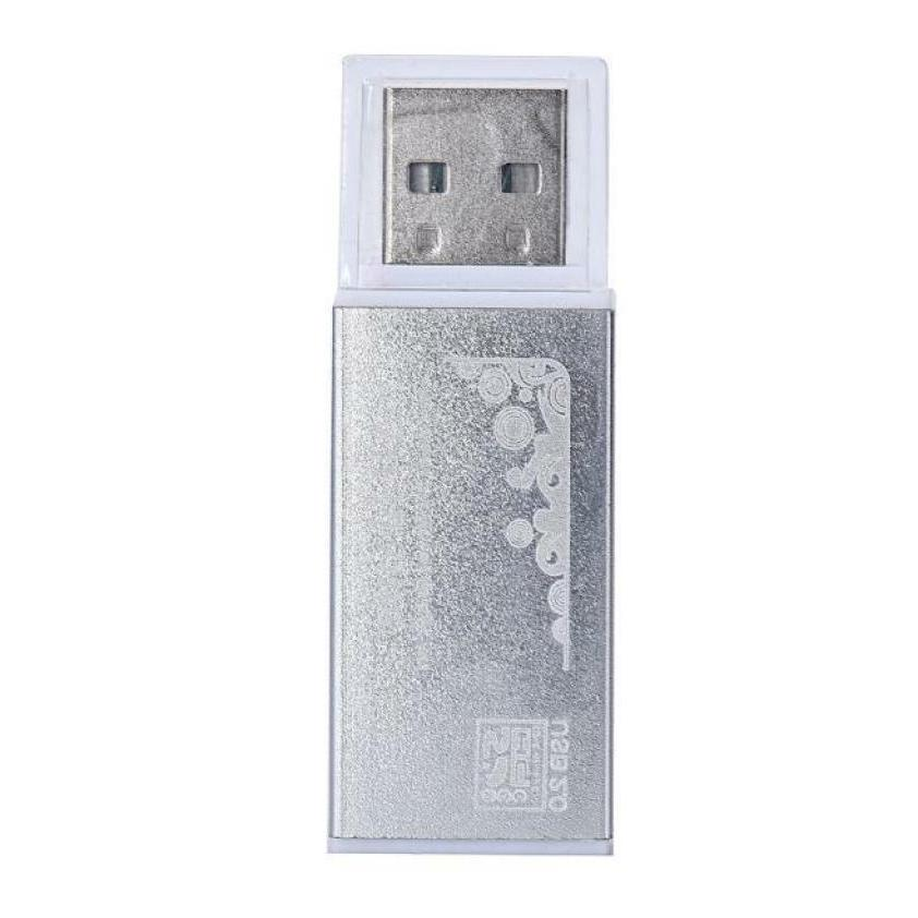 Silver All In 14 in Reader ADAPTER Micro to