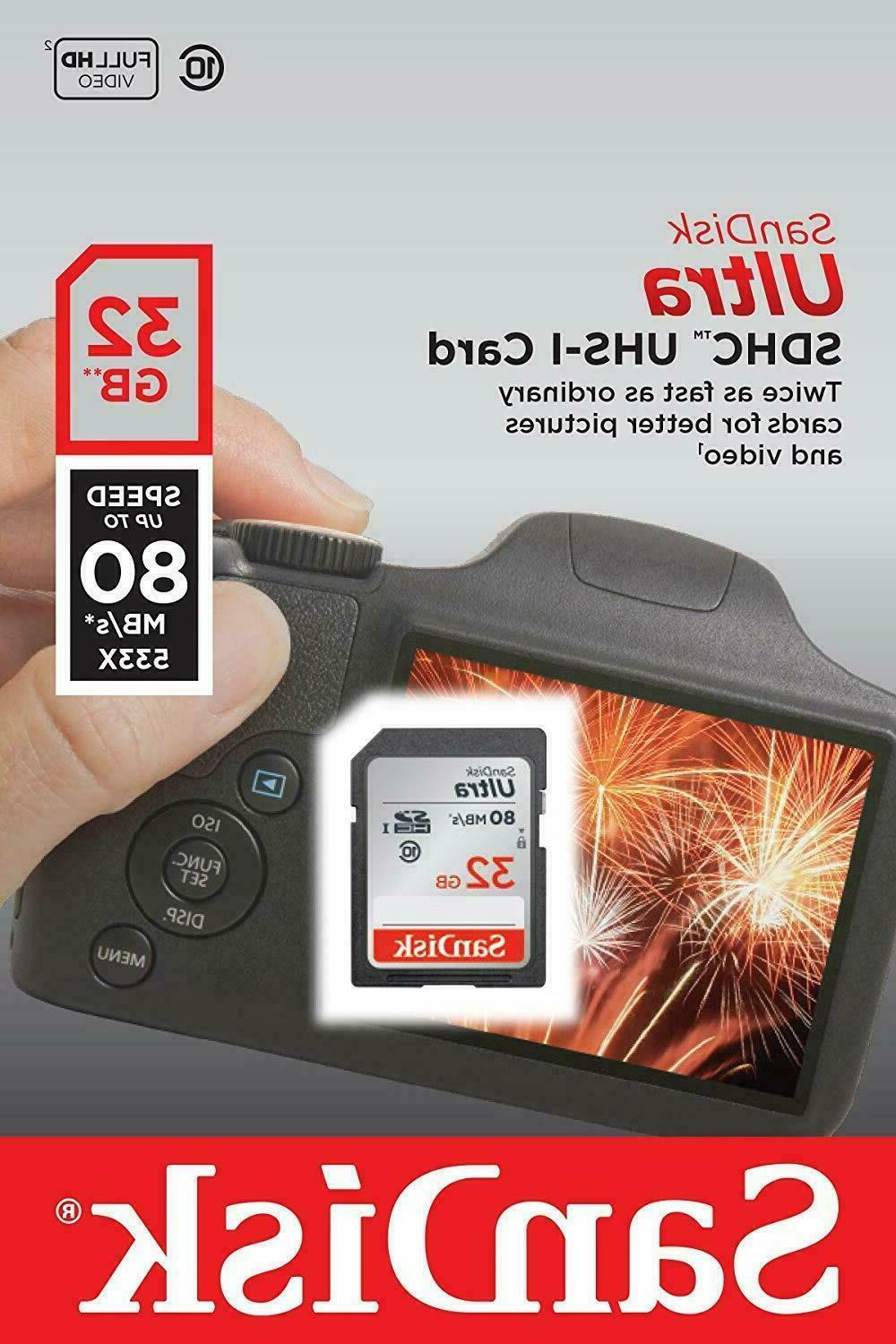 SanDisk Ultra Card Class10 80MB/s Memory Card transfer