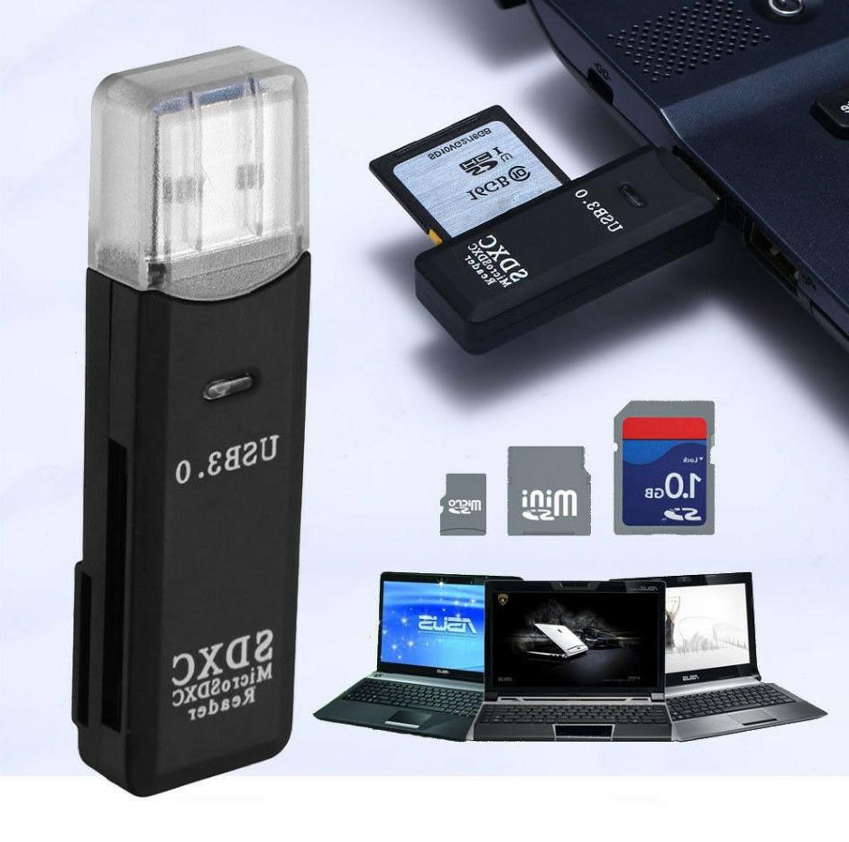USB Card Adapter for Micro T-Flash Memory Card