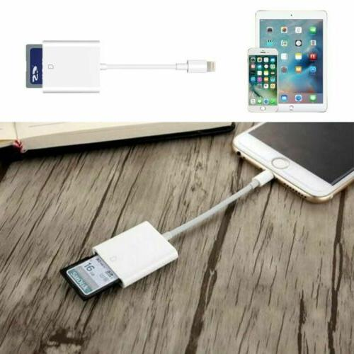 USB Camera Adapter Transfer For iPhone11/XS/X/8/7/Plus