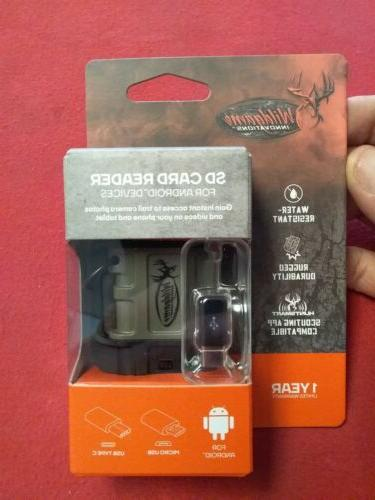 wildgame inovations sd card reader for android