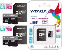 ADATA Micro SD 16GB Class 10 Ultra Memory Card Drone Tablet