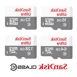 Sandisk Micro SD Card Ultra Memory Card 32GB 64GB 128GB Smar